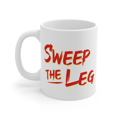 Sweep The Leg Coffee Mug