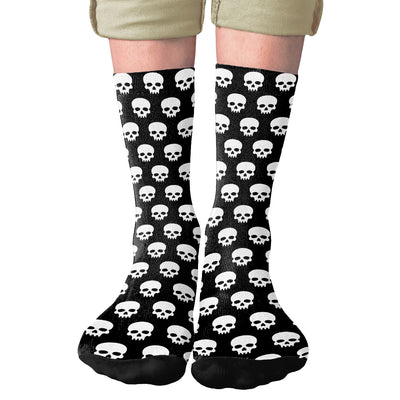 Skulls Adult Crew Socks