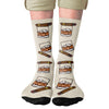 Whiskey & Cigars Adult Crew Socks- - Famous IRL