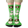Baseball Adult Crew Socks- - Famous IRL