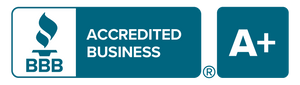 Better Business Bureau badge of accreditation