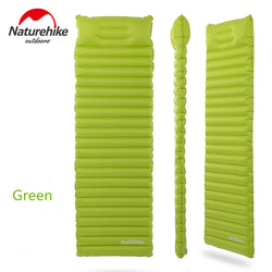 Inflatable Lightweight Camping Mat with Pillow