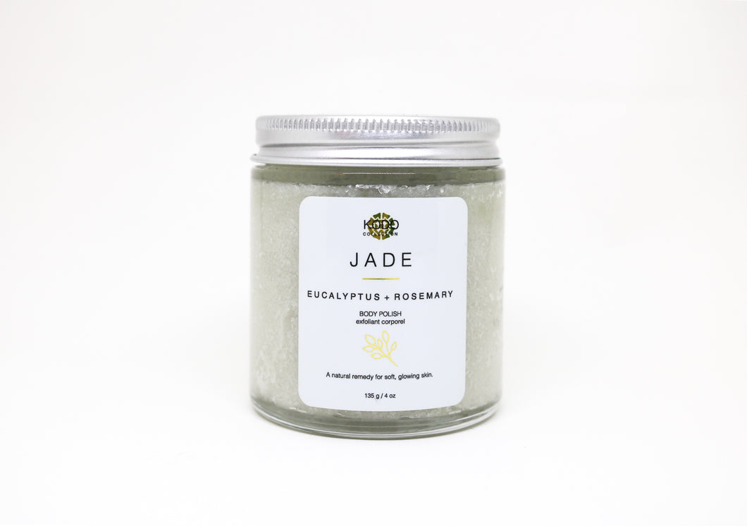 JADE Eucalyptus + Rosemary Body Polish