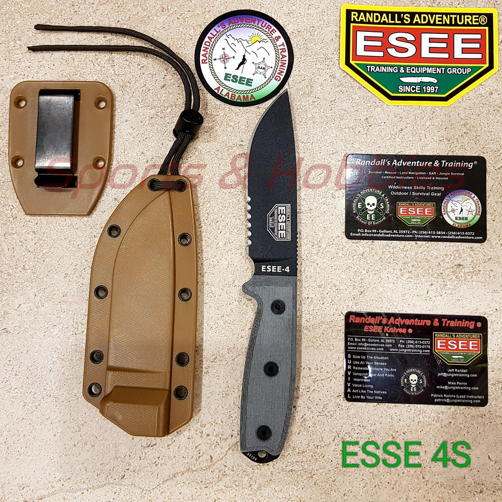 ESEE 4-S knife