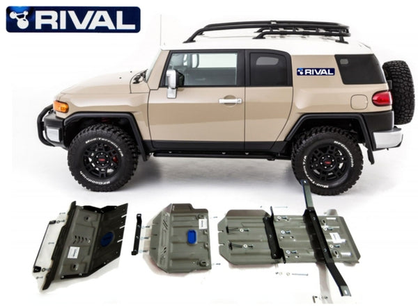 RIVAL TOYOTA FJ 6mm FULL Kit 3pcs 2010-