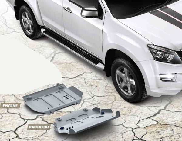 RIVAL isuzu d-maxx 4mm 2pcs kit 2012-