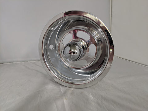 "New Billet Aluminum 6"" & 8"" Slotted Front Wheels"