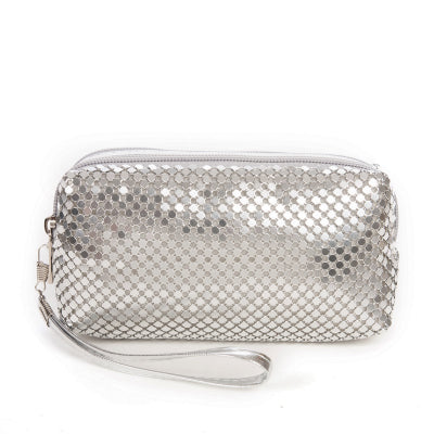 Glitter Bling Mini Comestic Makeup Bag - 4 Colors - Handbags Wallets Galore