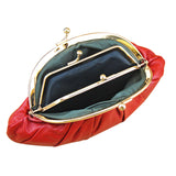 Shell Pouch Genuine Leather Mini Coin Purse - Handbags Wallets Galore