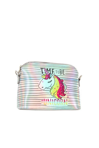 Time To Be A Unicorn Crossbody Bag - Handbags Wallets Galore