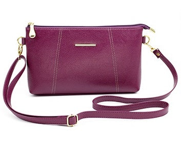 Casual Small Vintage Leather Crossbody Bag - 5 Colors - Handbags Wallets Galore