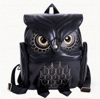 Fashion Owl Cartoon Backpack - Handbags Wallets Galore