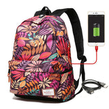 USB Laptop Charging Women's and Student's Backpack - Handbags Wallets Galore