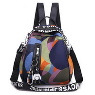 Women's and Girl's Oxford Multi-function Waterproof Backpack - Handbags Wallets Galore
