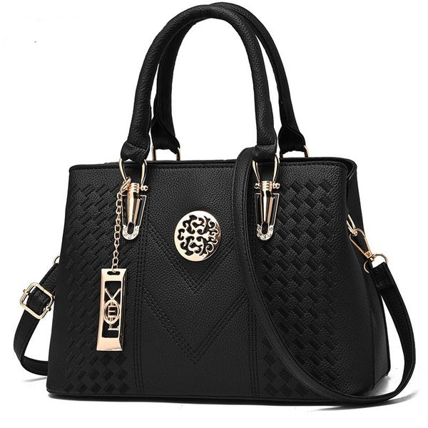 New Luxury Designer Tote Crossbody Handbag - Handbags Wallets Galore