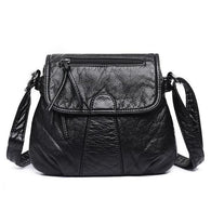 Soft Leather Mini Shoulder Bag - Handbags Wallets Galore