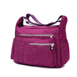 Messenger Nylon Casual Travel Shoulder Bag - 5 Colors - Handbags Wallets Galore
