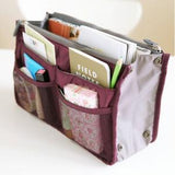 Slim Bag-in-Bag Purse Organizer - Handbags Wallets Galore