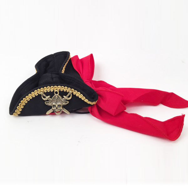 Buccaneer Pirate Dog Hat - Bark Label