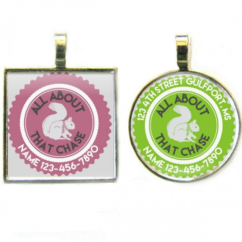 All About That Chase Dog ID Tag - Bark Label