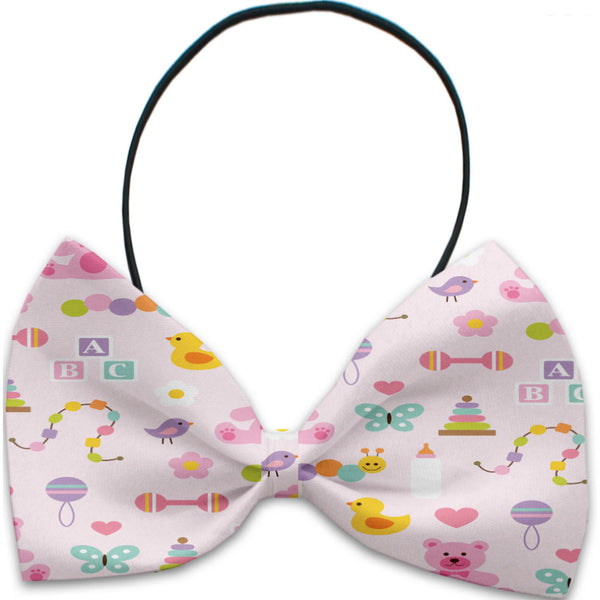 Baby Girl Dog Bow Tie