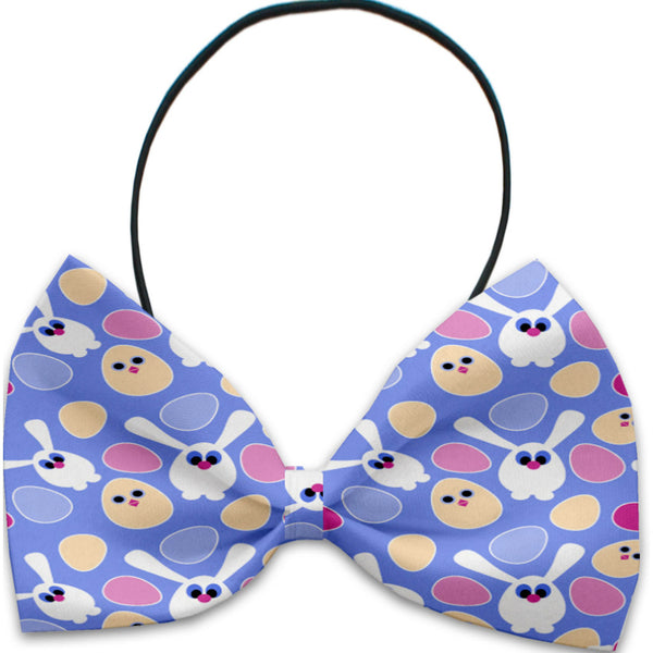 Chicks And Bunnies Dog Bow Tie