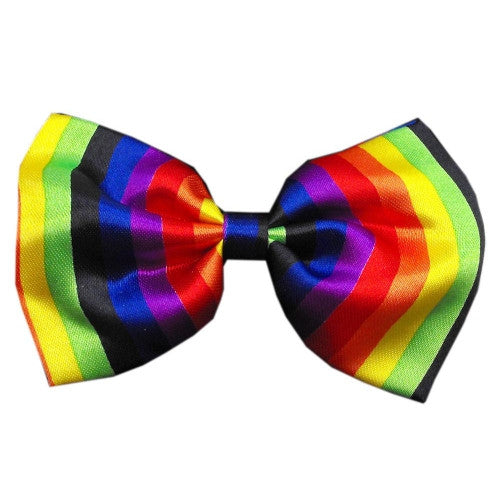Rainbow Dog Bow Tie - Bark Label