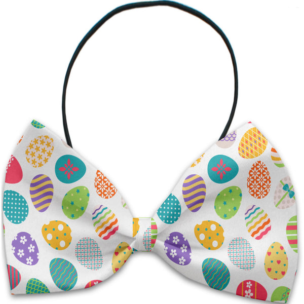 Easter Eggs Dog Bow Tie