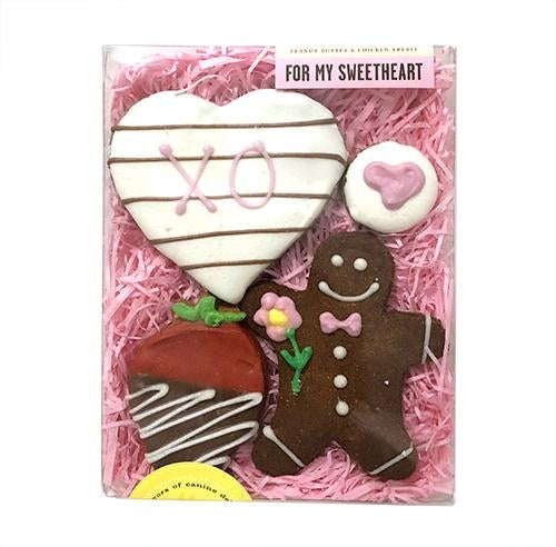 For My Sweetheart Boxed Dog Treats - Bark Label