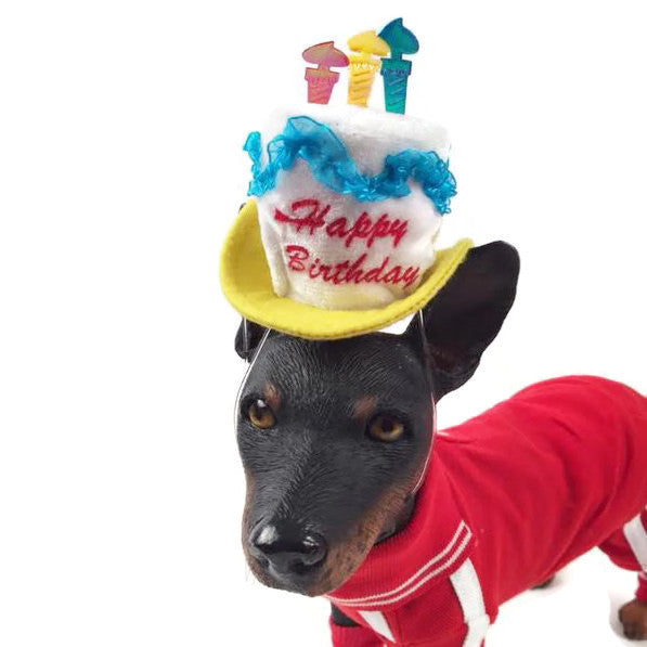 Happy Birthday Dog Hat - Bark Label