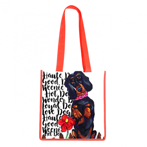 Haute Dog Tote Bag