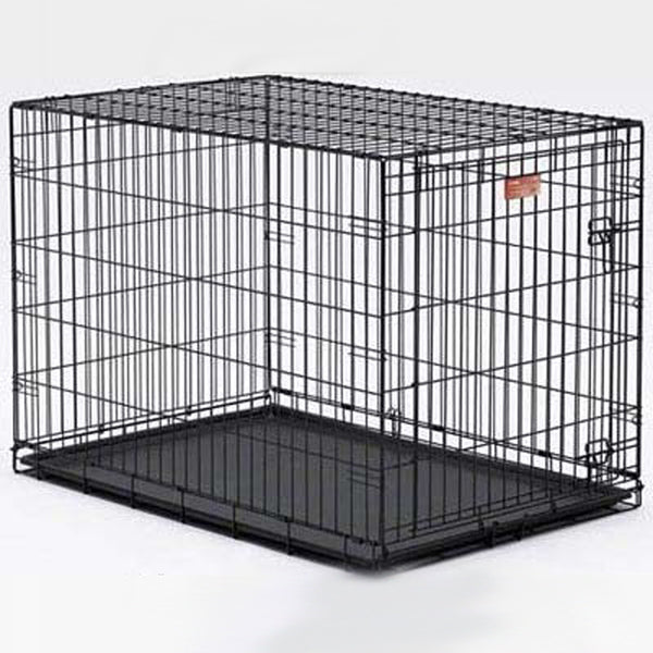 Life Stages Single Door Dog Crate - Bark Label