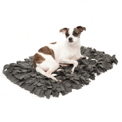 Meadow Duvet Charcoal Dog Bed