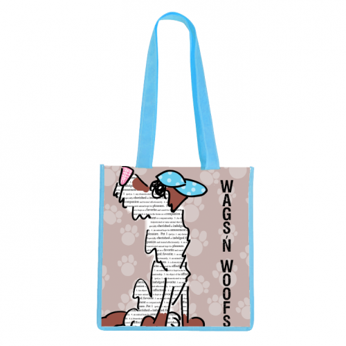 Wags And Woofs Tote Bag