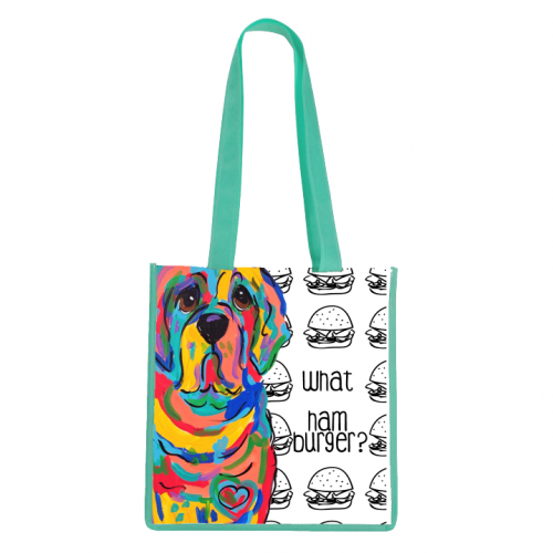 What Hamburger Tote Bag