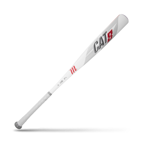 Marucci CAT 8 White BBCOR Baseball Bat: MCBC8
