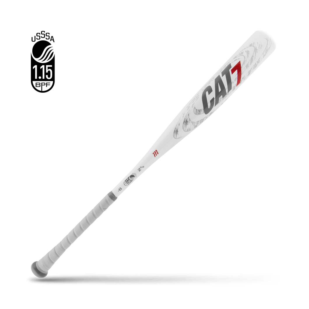 Marucci CAT 7 -8 USSSA Baseball Bat: MSBYC78