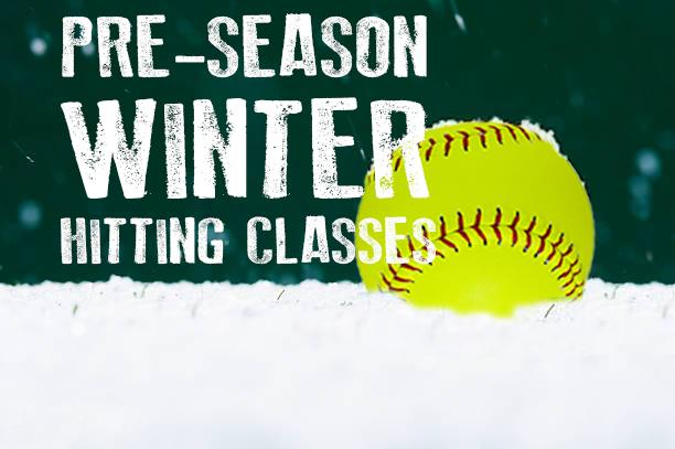 High Level Softball Hitting Class - Ages 8-14 Yrs Old - February & March