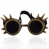 Steampunk Spiked Welding Style Goggles (6 Color Options)