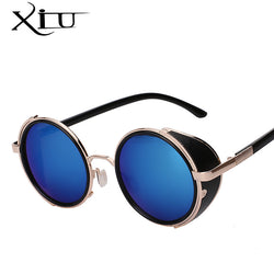 Metal Wrap Steampunk Sunglasses (12 Color Options)