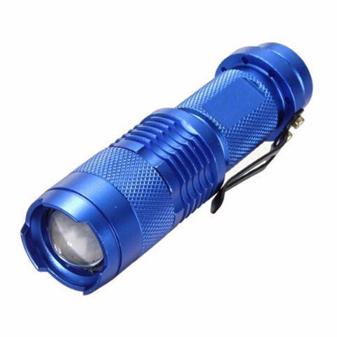 LED Torch Zoomable Waterproof Flashlight