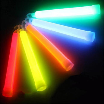 5 multicolor Chemical GlowSticks