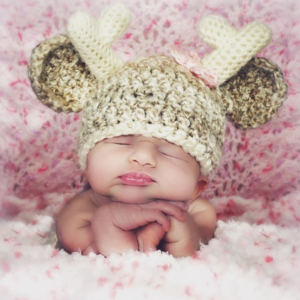 44ea2041b60ff Baby Girl Deer | Woodland Theme Baby Outfits by My Little Crochetables