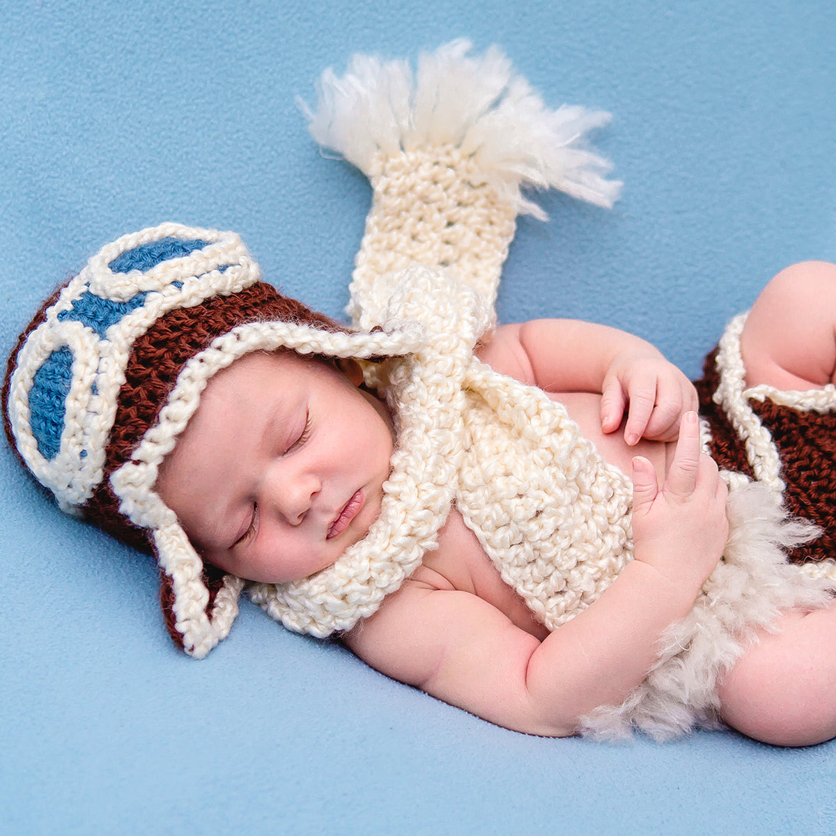 Baby Airplane Outfit includes the pilot hat 9309665a480