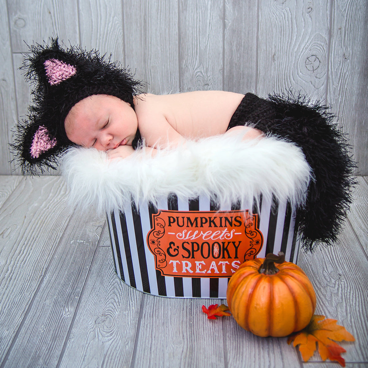 baby cat costume - my little crochetables