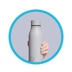 NAECO Bottle - insulated, vacuum-seal reusable stainless steel bottle, a great replacement for single-use plastic bottles