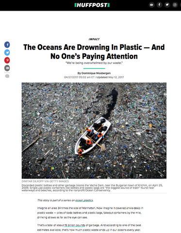PLASTIC POLLUTION IN OUR OCEANS - REVERSE BEFORE IT'S TOO LATE