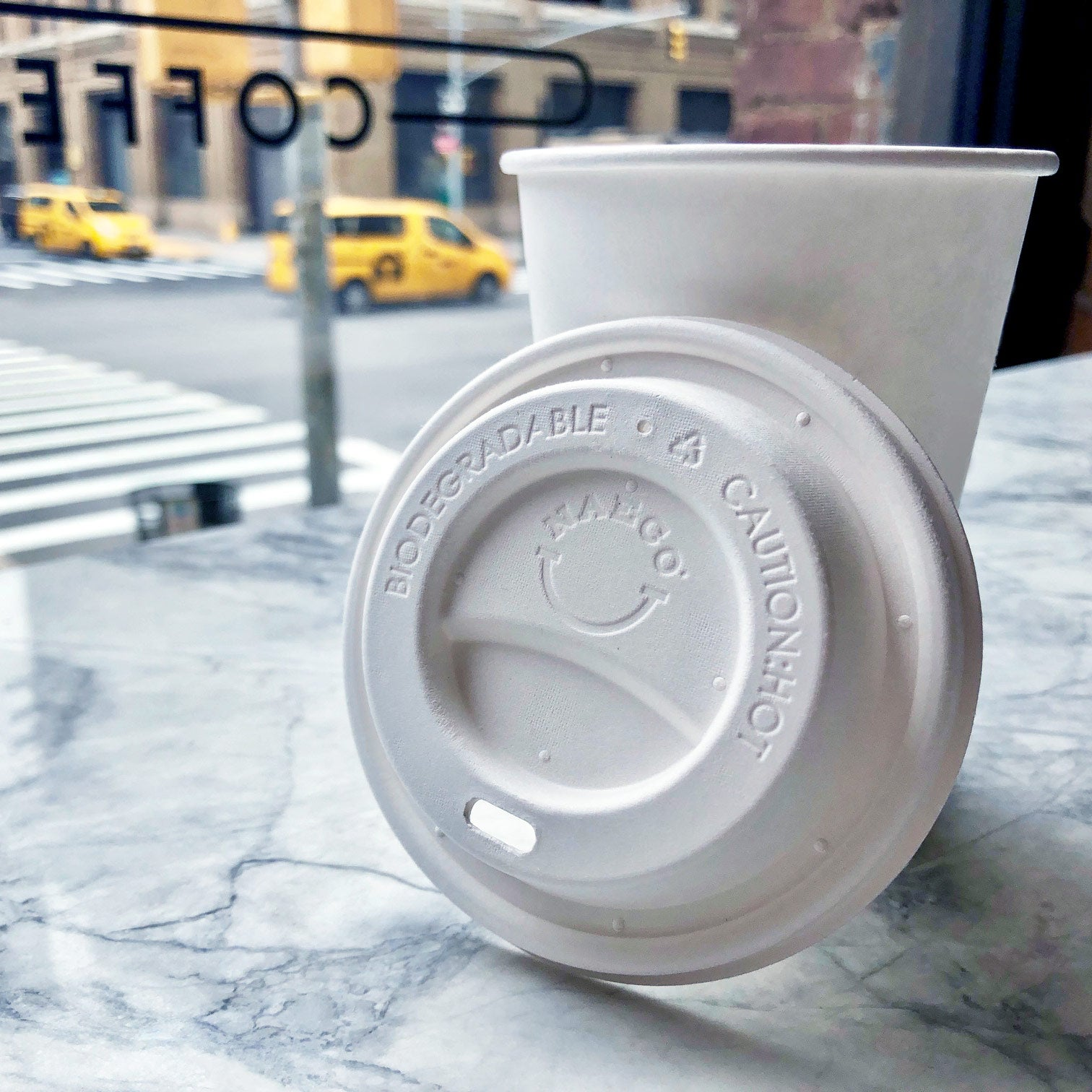 Biodegradable Coffee Lids