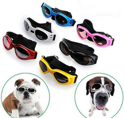 Cool Waterproof Adjustable Dog Sunglasses