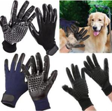 Miracle Silicone Pet Deshedding Grooming Gloves 2 Colors